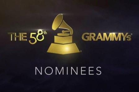 2016葛萊美獎重要得獎名單